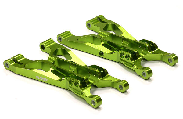 Integy T6712GREEN Alloy Alloy Alloy T2 Lower Arm(2)for Savage Flux, X 4.6 2011 & Savage XL d4616e