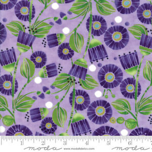 Moda-Sweet-Pea-Lily-Lavender-48641-14-100-Cotton-Quilting-Fabric-44-034-Wide-SBY