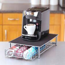 60 Pod Tassimo Coffee Capsule Holder Dispenser Stand Drawer Storage Rack