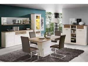 Esszimmer Duro 5tlg Speisezimmer komplett Wohnzimmer Küche Esstisch ...