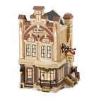 Department 56 Dickens Village C D Boz Ink and Pen Lit House 6 9inch