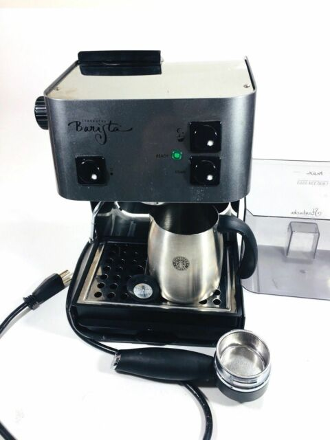 Starbucks Barista Saeco espresso machine fully refurbished Stainless SIN 006
