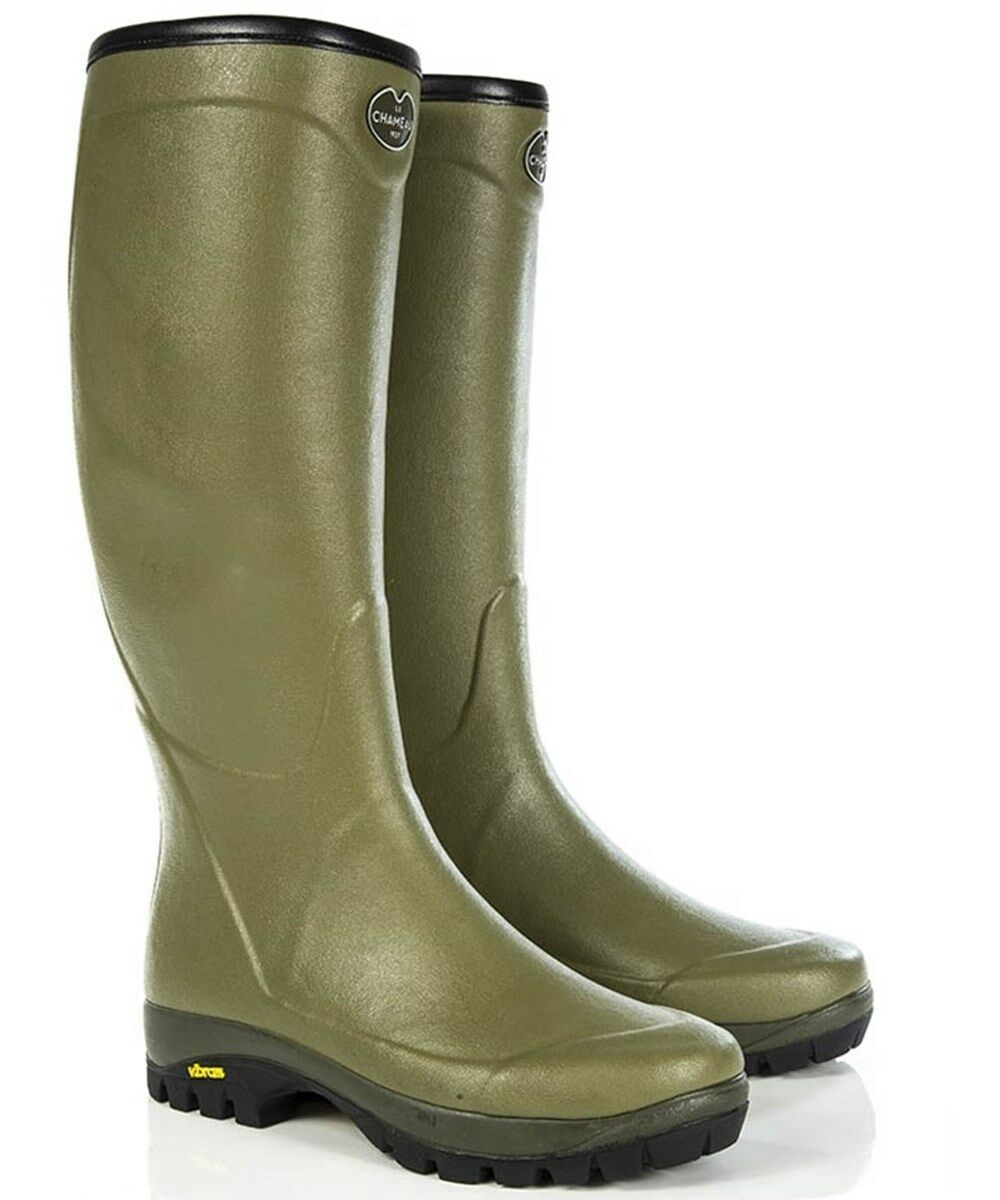 Le Chameau Country Vibram - Boots Shooting Gents Wellingtons FREE UK P&P