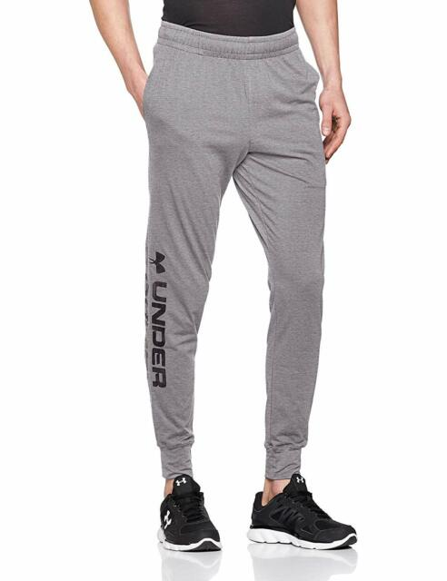 Under Armour Mens Pants Gray Size 2XL Sportstyle Logo Loose Joggers $45 #168