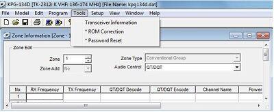 KENWOOD KPG-82D v2.11 with ENGINEER Code Program Software for TK-2202,TK-3202
