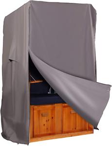 Strandkorb Hanse Schutzhülle aus 600 D Oxford Gewebe mit S 92cm