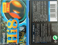 Cassette Hi - 8 ( D 8 ) Maxell Neuve Neuf Lot De 2 Xr P. Camescope Stock France