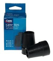 6 Pack Carex Cane Tips 3/4 Inch 2 Count Each on sale