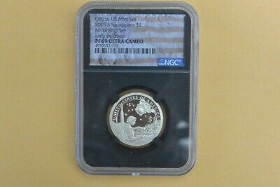 2019 S Proof Native Amercan Dollar  NGC PF 69 From Rocketship Set  Early Release