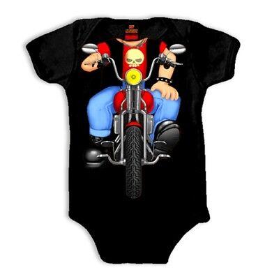 Headless Boy Biker Toddler Tee Shirt