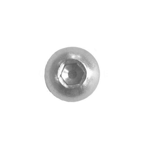 Linsenkopfschrauben ISO DIN 7380 M3 M4 M5 M6 M8 M10 Innensechskant  EDELSTAHL A2