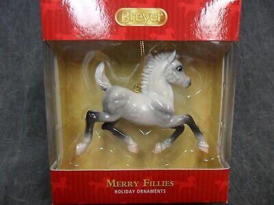 Carousel Ornament Christmas Holiday Model Horse Breyer NEW Winter Whimsy