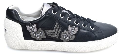 Donna Arms 120701 s Scarpa Ash 008 Fw17 Libero Casual Sneaker Nak Pelle Tempo 7dWUw