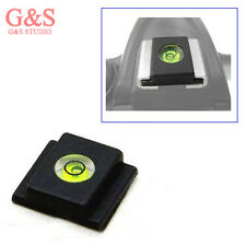 2 IN 1 Universal Hot Shoe buble Spirit Level Cover cap for canon nikon