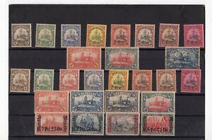 German colonies 1884 – 1915, Nice Collection 64 MLH*  (n706)