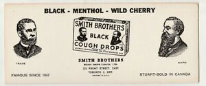 Smith-Brothers-Cough-Drops-Ink-Blotter-toronto-sold-canada
