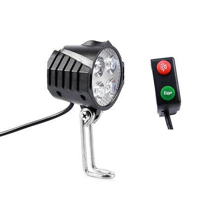 Ebike 12V 80V Electric Bicycle Light with Horn Waterproof Headlight Horn Set | eBay