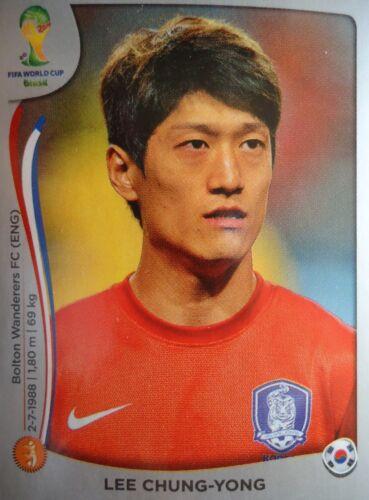 Panini 631 Lee Chung-Yong Korea Republic FIFA WM 2014 Brasilien