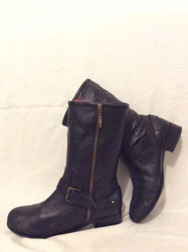 best service 13df0 98db6 Autograph Calf Size Black 5 5 Leather Boots Mid qz6RnwqT8