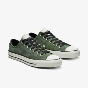 Converse-Mens-CTAS-Ox-Pro-Leather-162508C-Green-Black-Egret-Multi-Sizes-Skate