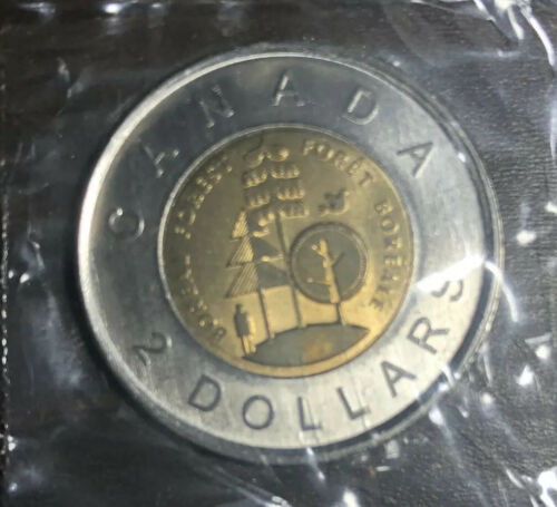 2011 $2 Canada Boreal Forest Toonie Two Dollar Coin UNC SEALED not from roll!
