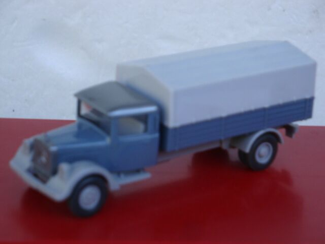 MES-66354 Wiking 1:87 Mercedes LKW Recycling sehr guter Zustand