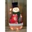 Luce-Up-Movimento-Animato-Babbo-Natale-Pupazzo-di-Neve-Decorazione-Interno-Led miniatura 6