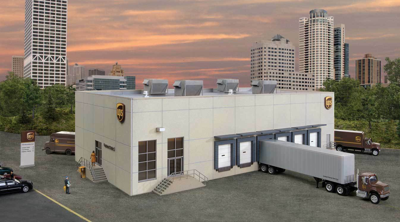 servicio considerado Escala H0 Kit Construcción Ups Hub con con con Kundencenter - 4110 Neu  solo para ti