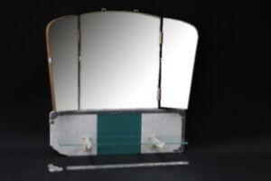 alter Spiegel Faltspiegel Faltbar Klappbar - vintage 50er Jahre Camping