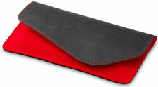 Cooler Master Water Repellent Wool Felt Sleeve Case Pouch for Moto G XT1028 Red