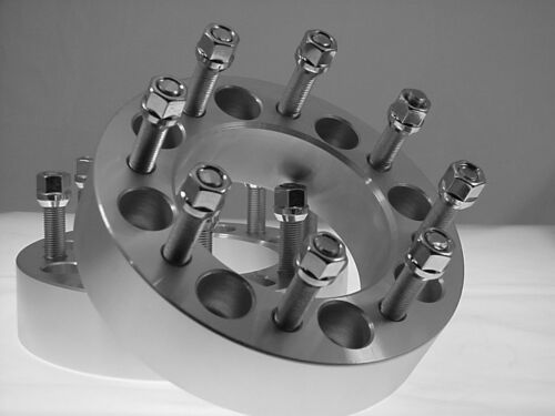 """2 Pc 1.50/"""" Dodge Ram 2500 3500 Forged Wheel Spacers Adapters Heavy Duty # 8650C9"""