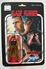 Custom made 3 3/4 Blade Runner Deckard Vintage Style action figure MOC