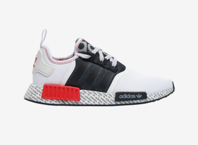 Size 11 - adidas NMD R1 Print Boost - White Black Red