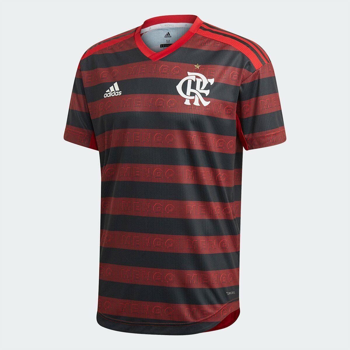 Flauominigo Home Soccer Footbtutti  PLAYER Jersey Shirt  2019 Adidas Brazil