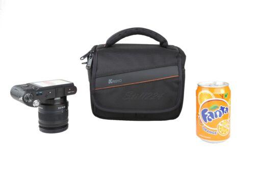 Correa para el Hombro Bolso de Cámara Fuji X-M1 Resistente al Agua Bolsillo Extra Para Lente