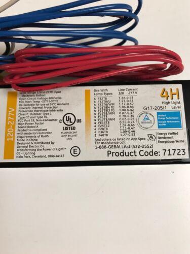 GE 71723 GE432MAXP-H//Ultra Ultramax 4H Fluorescent Ballast for F32T8 Lamps 4