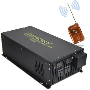Pure-Sine-Wave-Inverter-12V-to-230V-240V-10000W-Solar-Converter-Remote-Switch