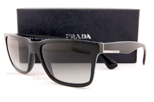 0f64e4d41a96e PRADA Sunglasses Mens Spr 19s Black 1ab-0a7 Spr19s 59mm for sale ...