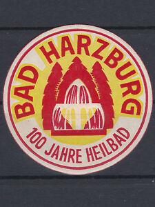 Reklame für Bad Harzburg 100 Jahre Heilbad aus dem Jahr 1931 - Graz, Österreich - Rücknahmen akzeptiert - Graz, Österreich