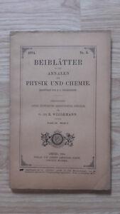 E. Wiedemann - Beiblatter Zu Den Annalen Der Physik Und Chemie - 1894 - Nº5