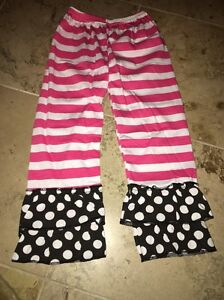 Girls Ruffle Pants New In Bag- Size MED Age 3T | eBay