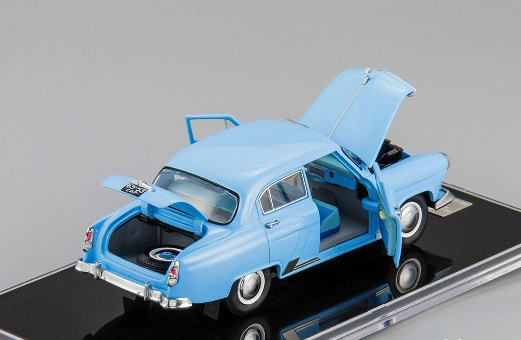 GAZ 21i bluee all all all elements open L.e. 500 pcs. 1 43 V43 MTC-21.02 53a0b8