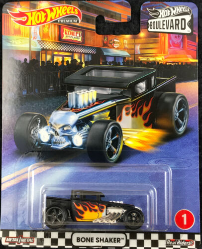 Hot Wheels Premium 2020 Car Culture Cruise Boulevard 1//5 Bone Shaker