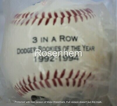 Details about  /Los Angeles Dodgers Baseball Piazza Karros Back to Back Rookies Year 1992-1993