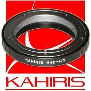 KAHIRIS-M42-4-3-Bague-d-039-adaptation-objectif-M42-vers-boitier-Olympus-4-3