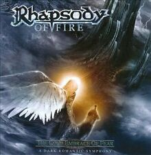 The Cold Embrace of Fear: A Dark Romantic Symphony by Rhapsody of Fire (CD,...