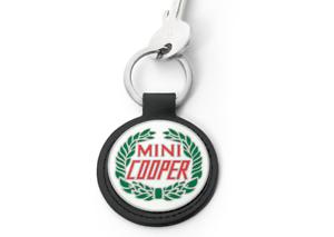 19,00 € Original MINI Vintage Logo Keyring Schlüsselanhänger UPE
