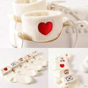 1-Pair-Fashion-Women-Girl-Lovely-Cute-Embroidered-Socks-Casual-Cotton-Socks-Xmas