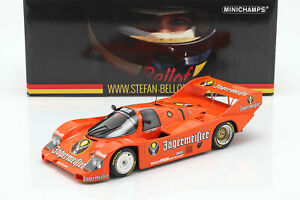 Porsche 956k Brun #1 3rd 200 Mi Norisring 1984 Stefan Bellof 1:18 Minichamps-afficher Le Titre D'origine Lissage De La Circulation Et Des Douleurs D'ArrêT