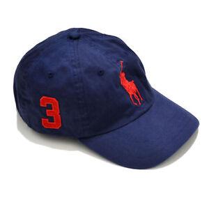 huge discount 75aa1 5f1fc Dettagli su Berretto Polo Ralph Lauren Uomo Cappello Regolabile con Visiera  Pony Classico